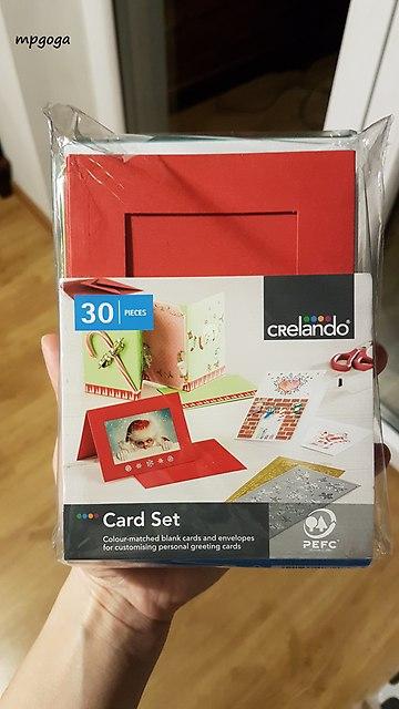 zestaw do robienia kartek