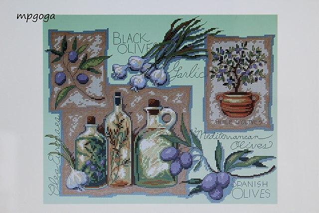 czosnek i oliwki