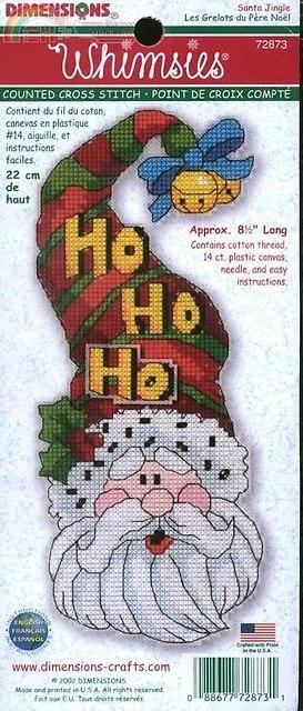 72873 Santa Jingle Whimsy