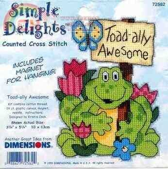 Dimensions 72582 Toad-ally Awesome