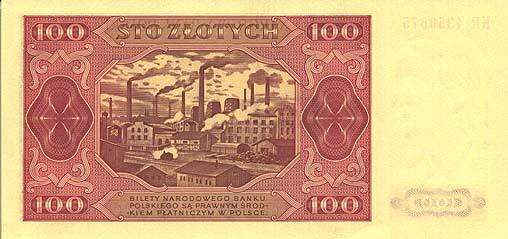banknot 100zl