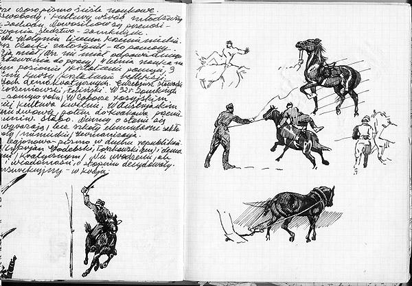 1a Rysunek z zeszytu L.Maci�ga
