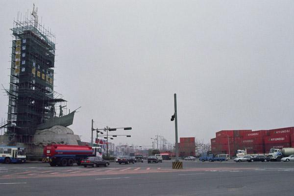 port w mieście