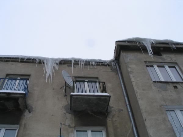 Warszawa ul. Paryska - Sople