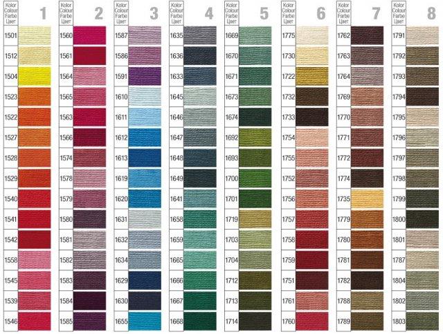 Ariadna - nowe kolory mulin (wrzesien 2009)