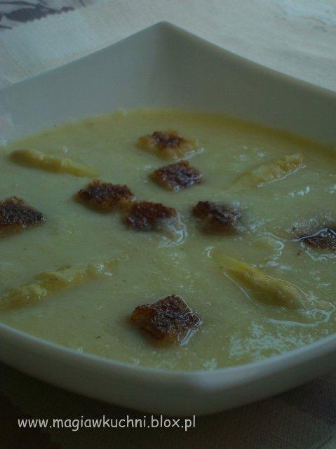 zupa szparagowa 1