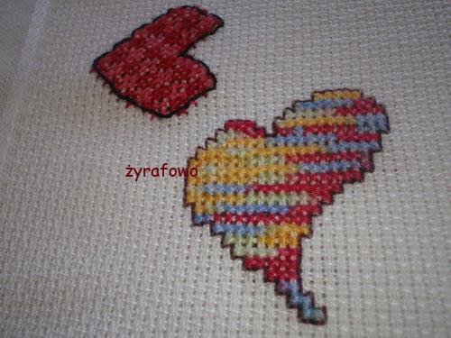 obrus z sercami 17