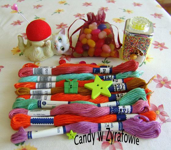 Urodzinowe Candy w Zyrafowie
