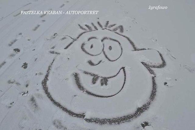 Pastelka Kraban-autoportret