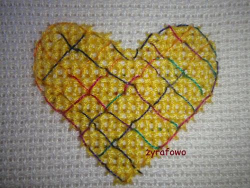obrus z sercami 14