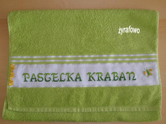 recznik dla Pastelki Kraban_01