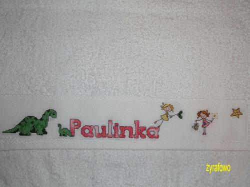recznik dla Paulinki 01