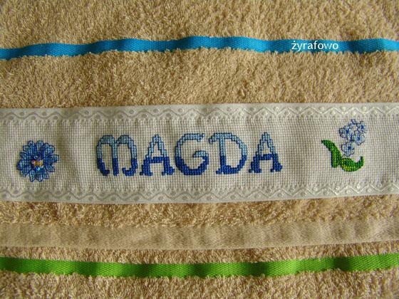 ręcznik dla Magdy_02