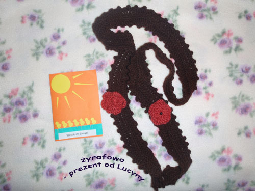 prezent od Lucyny