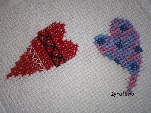 obrus z sercami 04
