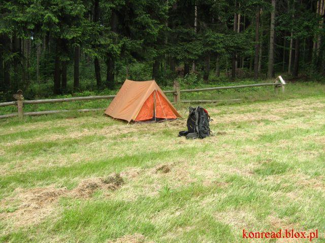 Głuchołazy - pole namiotowe festiwalu KROPKA
