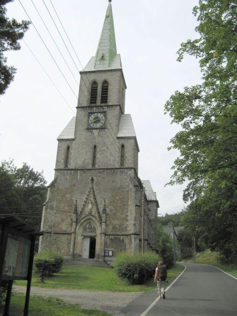 Czechy, Travna - kościół