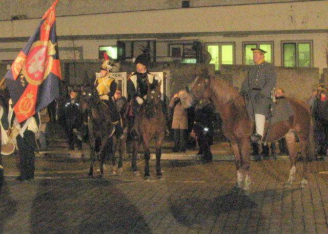 Rekonstrukcja walk Noc Listopadowa 2007 - Arsenał