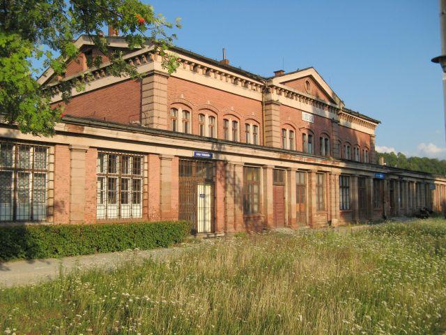 Budynek dworca kolejowego Kłodzko Główne