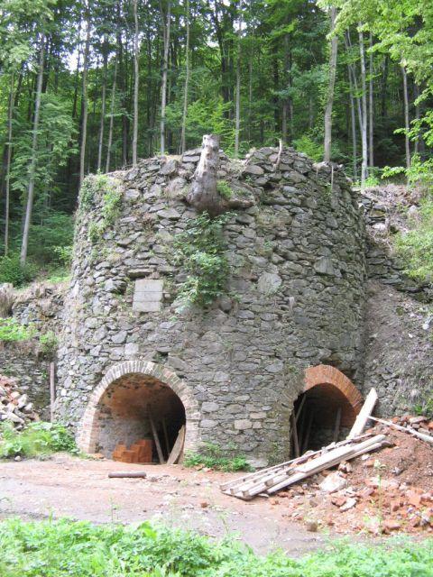 Czechy - droga Javornik - Travna, dziwny obiekt