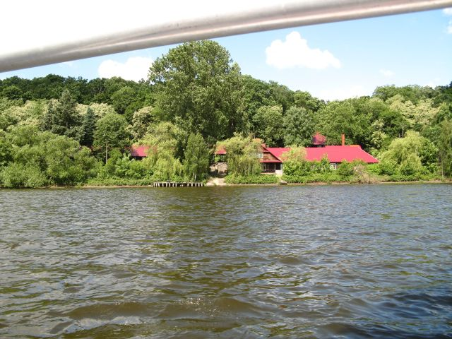 Zegrzynek - dawna stanica wodna PTTK