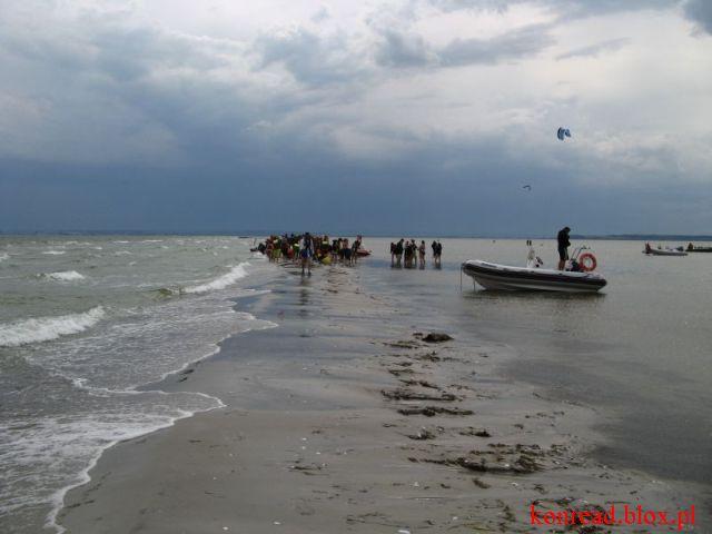Rybitwia Mielizna - nadciągająca burza