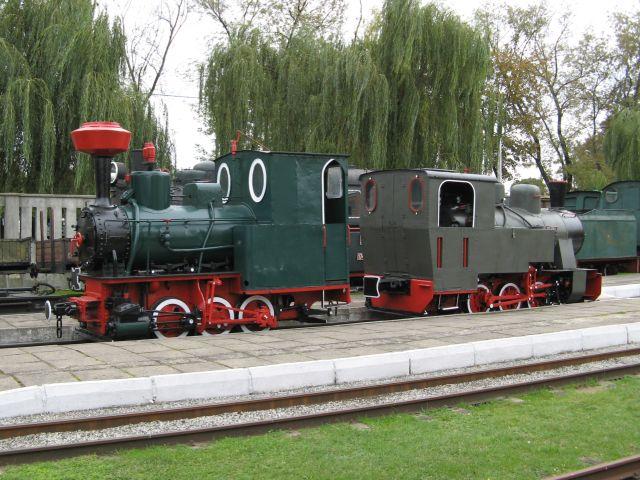 Muzeum Kolei Wąskotorowej w Sochaczewie - parowozy