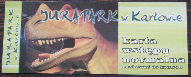 G�ry Sto�owe - Kar��w - bilet wst�pu do parku jurajskiego - Jurapark