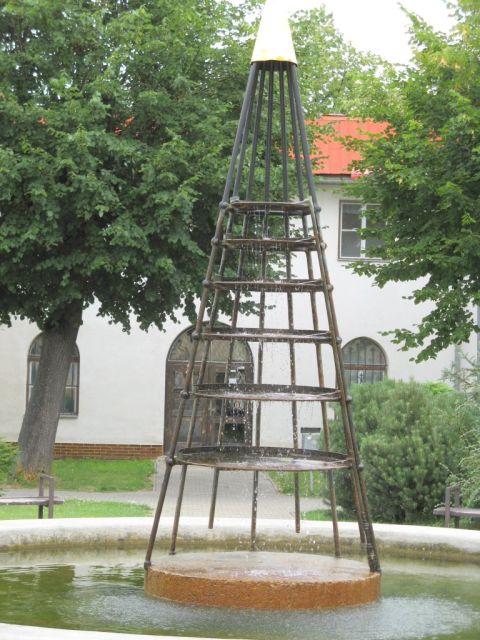 Czechy - Javornik - fontanna