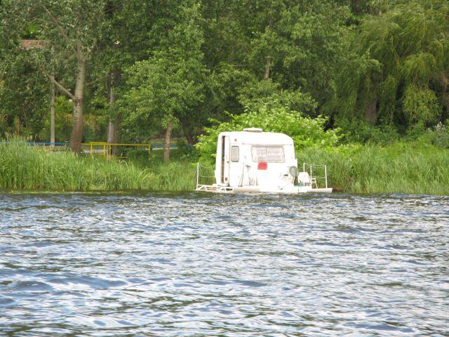 Serock - przyczepa campingowa wodna