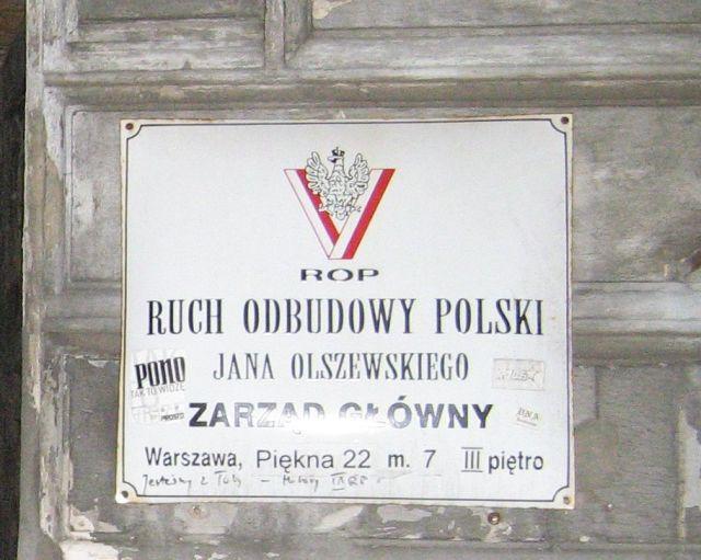 Warszawa - kamienica Piękna 22