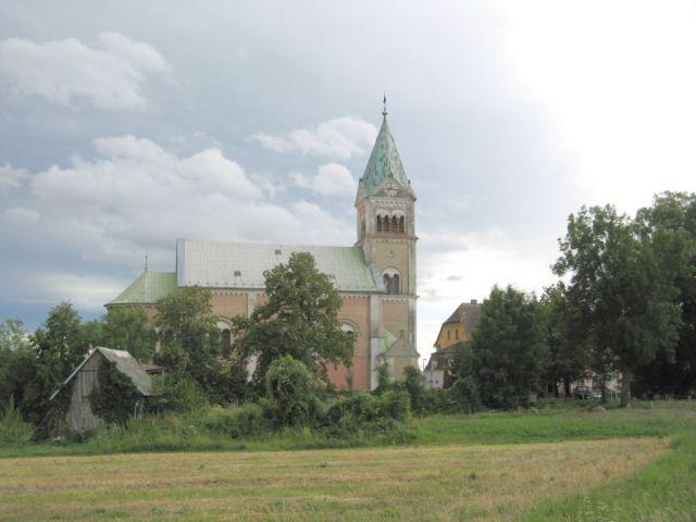 Czechy - Bily Potok - kościół św. Wawrzyńca
