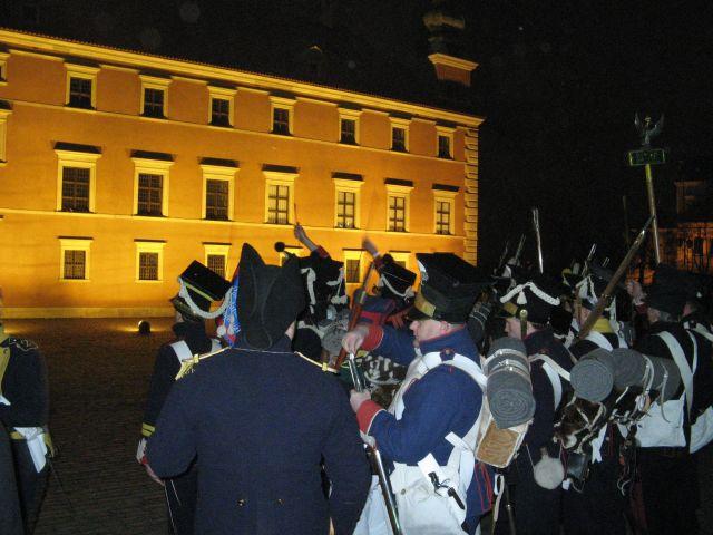 Rekonstrukcja walk Noc Listopadowa 2007 - oddziały powstańcze