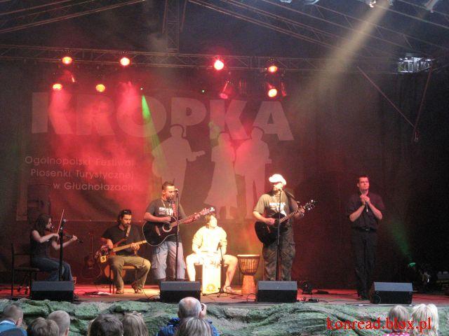 Grupa Za Mało Piwa - festiwal KROPKA 2008 - Głuchołazy