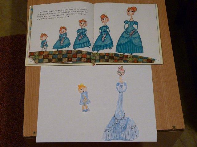rysunki Córeczki