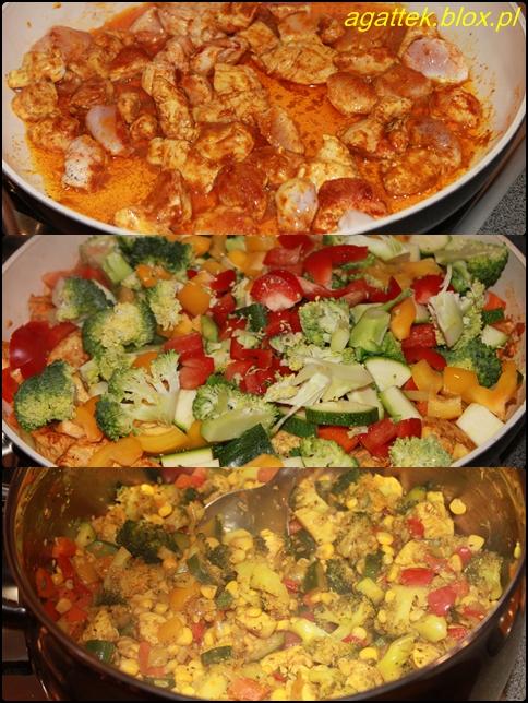 ry� z kurczakiem i warzywami