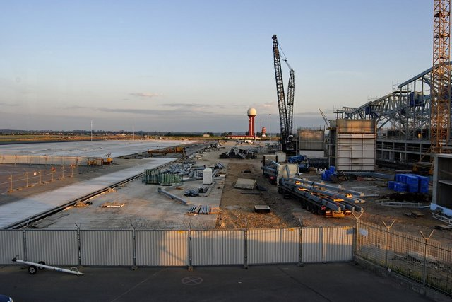 Gdansk Airport w budowie 2