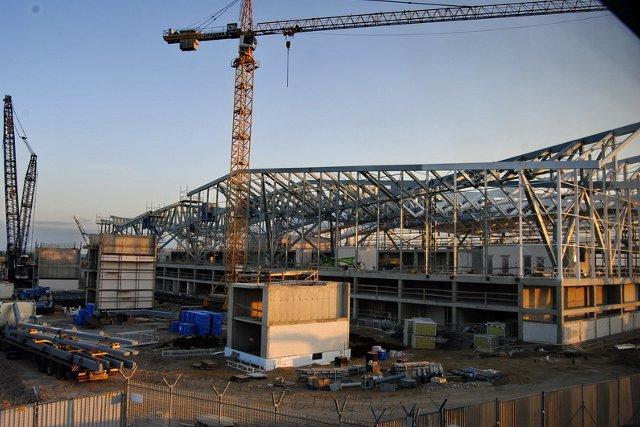 Gdansk Airport w budowie 1