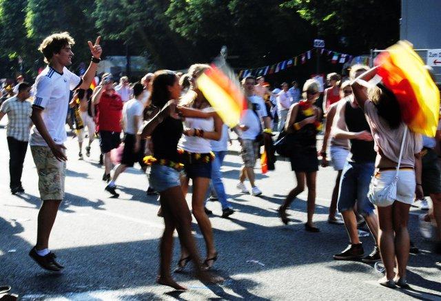 Berlin FIFA fans zone 18