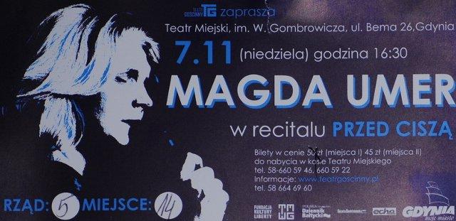 bilet - Magda Umer