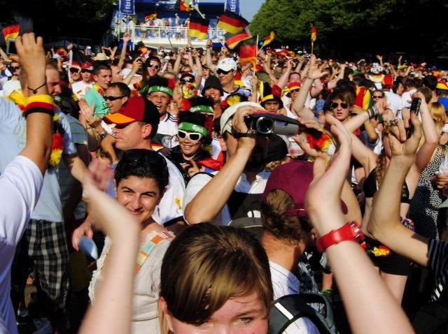 Berlin FIFA fans zone 12