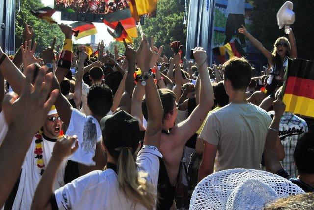 Berlin FIFA fans zone 11