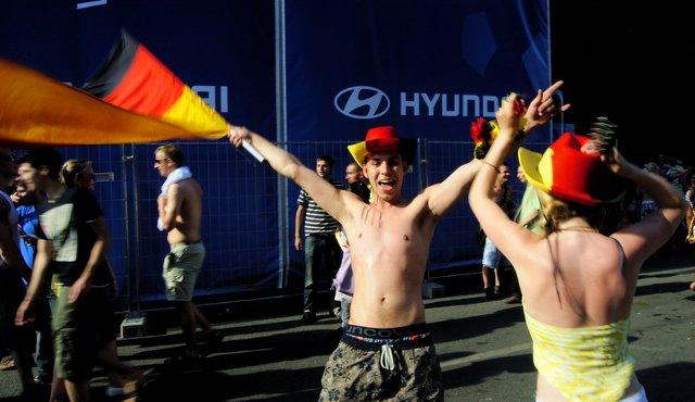 Berlin FIFA fans zone 14